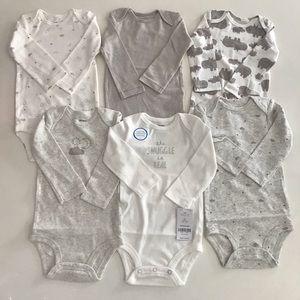 Carter's baby clothing set 6 pcs sizes 12m,18m